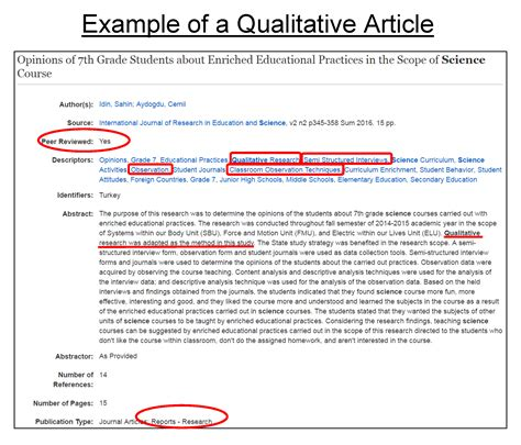 scholarly article abstract    summarize  journal article  examples