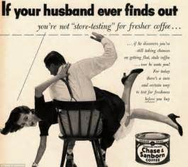 shadow lawn wedding didn 39 t i warn you about serving me bad coffee outrageously sexist ads from the 1950s show