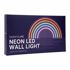 Buy Sunnylife Neon LED Wall Light Rainbow