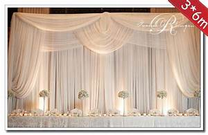 36m Wedding Decoration Backdrop With Swags Wedding