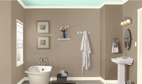 bathroom wall color sea lilly  valspar home style