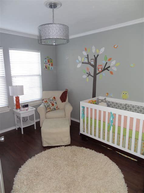 serene gray owl modern nursery project nursery