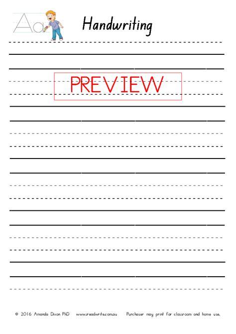 nsw foundation font handwriting sheets