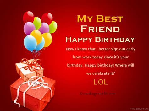 Best Wishes To A Friend 23 Birthday Wishes For Best Friend