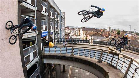 sebastian  redefines bmx  massive bridge gaps