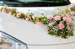 voiture des maries comment la decorer With chambre bébé design avec decoration mariage voiture fleurs