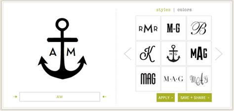 monogram    monogram makers logaster