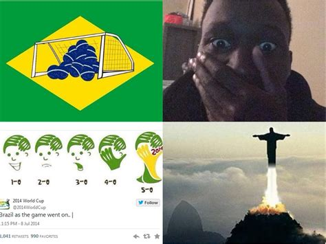 Meme Brazil - brazil vs germany world cup 2014 memes and twitter reaction after brazil suffer historic 7 1