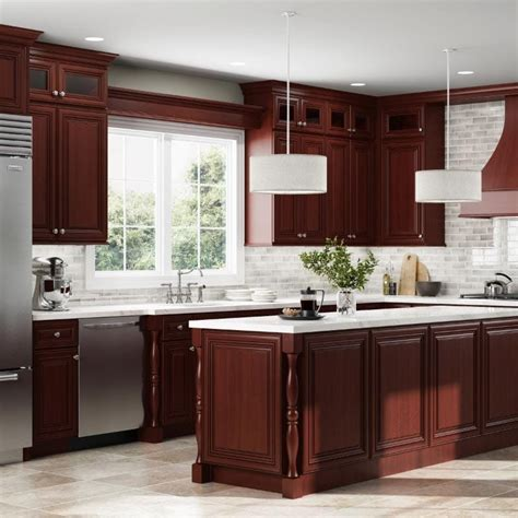charleston cherry kitchen cabinets rta cherry cabinets