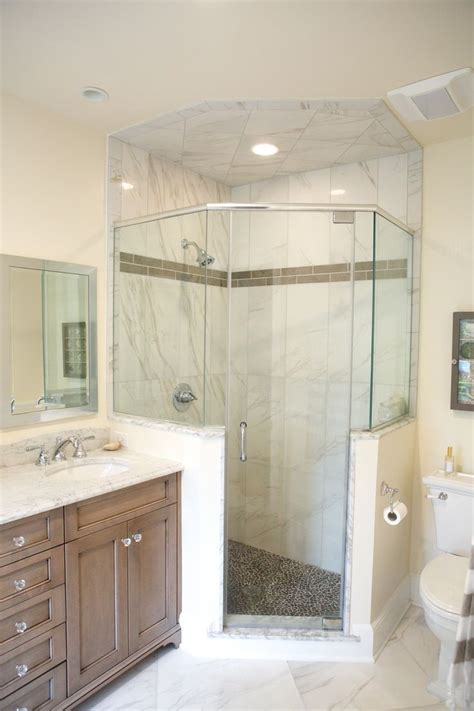 neo angle shower stalls   walls google search