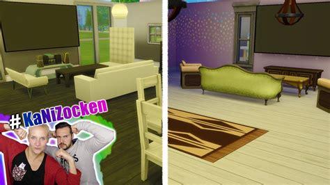 Kaans Modernes Wohnzimmer Vs Ninas Yoga Wohnzimmer! Sims 4