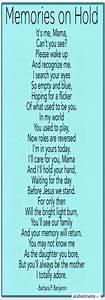 Dementia Poems And Quotes QuotesGram