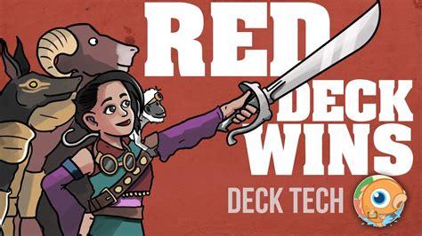 Instant Deck Tech Red Deck Wins (standard) Youtube