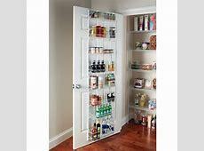 1Adjustable Over The Door Shelves Kitchen Pantry Organizer