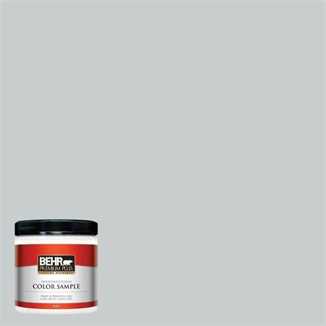 BEHR Premium Plus 8 oz #720E2 Light French Gray Interior