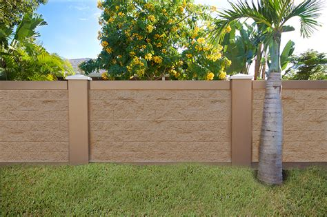 wall fence pictures block wall fence images