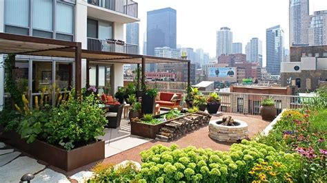 rooftop planting rooftop gardens home design