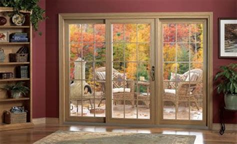 center opening sliding patio doors search