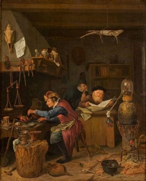 athenaeum  alchemist jan steen  images