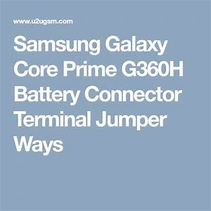 Samsung Galaxy Core Prime G360h Battery Connector Terminal