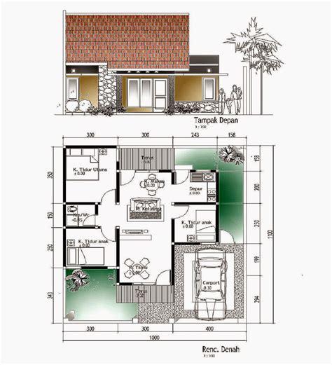 desain rumah sederhana ukuran  arcadia desain