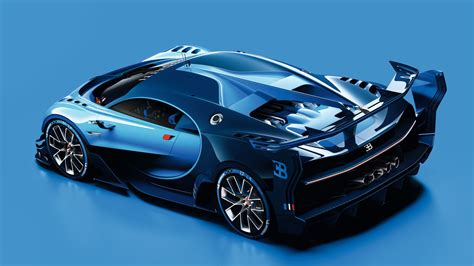 Bugatti Vision Gran Turismo Wallpaper, Cars & Bikes