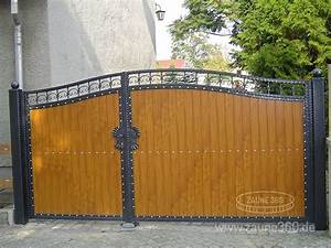 Garten Holzhäuser Aus Polen : z une toranlage sichtschutztore zaune metallz un aus ~ Lizthompson.info Haus und Dekorationen