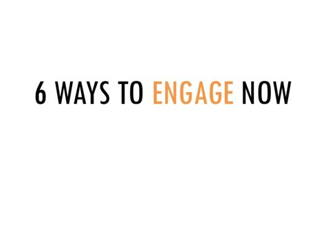 6 Ways To Engage With Extension