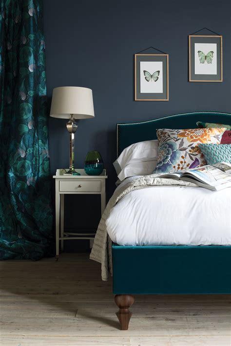 teal  dark grey  richmond bed     bed