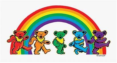 Grateful Dead Dancing Bears Clipart Bear Sticker