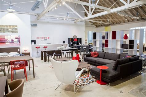 modern contemporary furniture store showroom  los