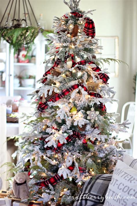 25 days of christmas plaid scarf ornament tutorial