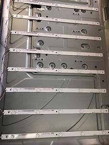 Kit Completo 11 Tiras Led Hisense Modelo  50h5gb Originales