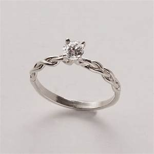 engagement ring delicate braided engagement ring in With delicate wedding rings