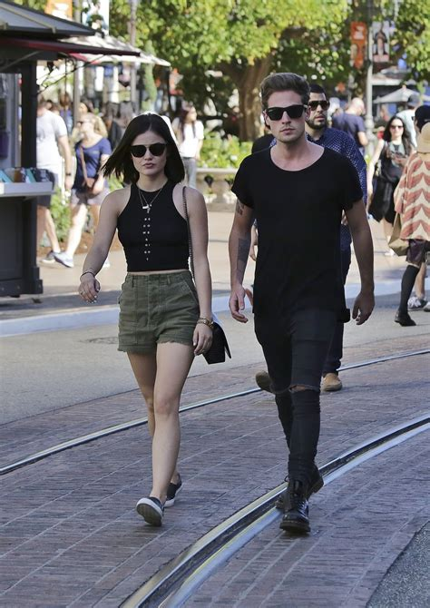 Lucy Hale in Shorts - Out in Los Angeles, March 2015 ...