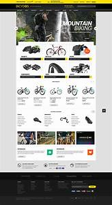 halo bicydos bike store responsive magento ce template With magento community templates