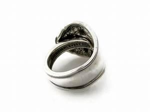 bridal rose spoon ring dank artistry With spoon wedding rings