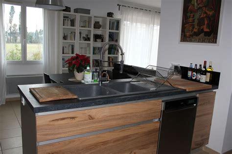 cuisine en chene cuisiniste à maillane 13 cuisine moderne en chêne