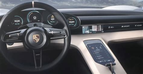 porsche mission  interior vehiclesuggest