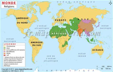 Localisation Martinique Carte Monde by Carte Du Monde Des Religions