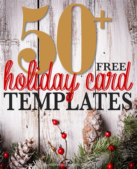 free christmas card templates for 50 free photo card templates moritz designs