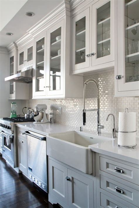 backsplash for white kitchen white 1x2 mini glass subway tile subway tile backsplash