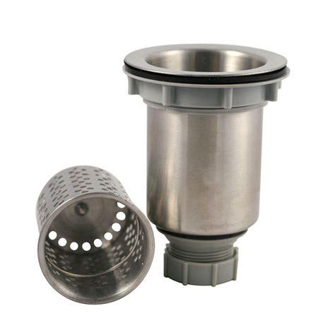 kitchen sink drain strainer vigo kitchen sink strainer in chrome vgstrainer the home