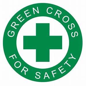 Logo - Green Cross For Safety by scrollmedia on DeviantArt