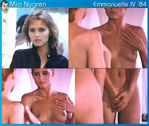 Mia Nygren  nackt