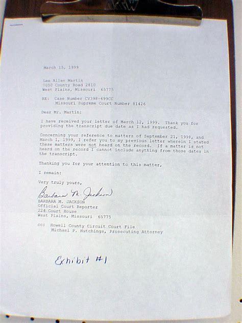 court reporter resume cover letter court reporter cover letter exles