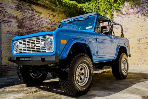 bronco coming     restored