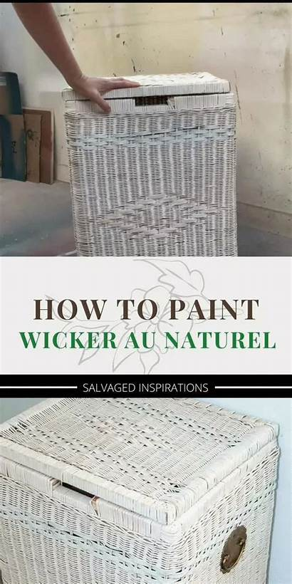 Wicker Paint Natural Spray Furniture Stripping