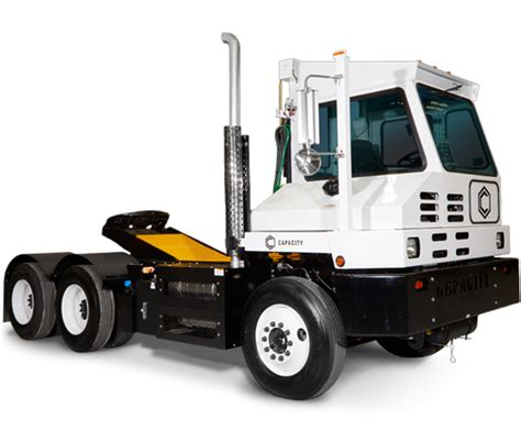 capacity trucks  capacity yard trucks spotter trucks