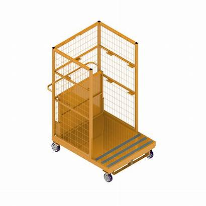 Order Forklift Picker Pickers Carts National
